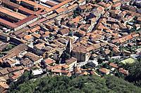 city of Sant Ambrogio di Torino, Valle di Susa, Piedmont, Italy