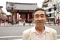 Portrait of a smiling senior man