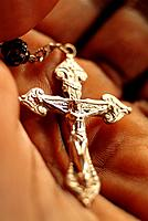 one crucifix accessory for religion