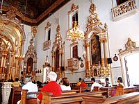 bahia church internal view