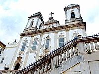 historical building church facade sacred place at bahia