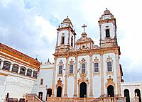 a historical church building facade at bahia