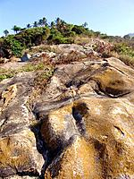 a rocky mountain hill at pernambuco