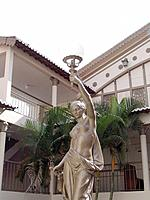 decorative statue of natal theatre center