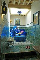 Morocco, Tamesla, the Dar Daif Hotel, near Ouarzazate