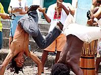 people playing capoeira game at bahia