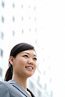 Young Businesswoman Smiling, Selective Focus, China, Beijing