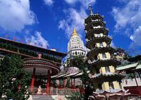 Malaysia, Penang island, Southeast Asia, Kek Lok Si temple, buddhist, buddhism, buddhists, religion, complex, architec