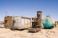 Chile, South America, Ghost Town, Humberstone, America, Atacama Desert, Desert, history, travel, South America, desert