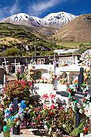 Chile, South America, Putre city, cemetery entrance, Altiplano, agraveyard, adevnture, America, Andes mountains, Archi