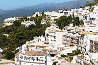 Apartments and houses, Mijas Malaga Province, Costa del Sol, Spain, Europe