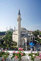 Firuz Aga and The Blue Mosque, Istanbul, Turkey, Europe