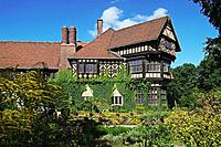 Cecilienhof Castle, New Garden, Potsdam, Brandenburg, Germany