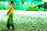 Cowboy, Circumlocution, Vacaria, Rio Grande do Sul, Brazil