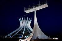 Cathedral Metropolitana de Brasília, Brasília, DF, Brazil