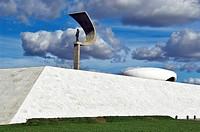 Juscelino Kubitschek Memorial, Eixo Monumental, Brasília, DF, Brazil
