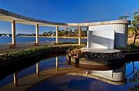 Casa do Baile, Pampulha Lake, Obra de Oscar Niemeyer, Belo Horizonte, Minas Gerais, Brazil