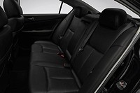 2009 Nissan Maxima 3.5 S in Black _ Rear seats
