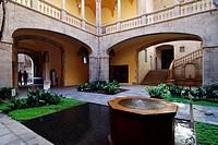 Palau del Lloctinent, Arxiu de la Corona d´Aragó, Gothic quarter, Barcelona, Catalonia, Spain