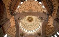 Turkey Istanbul Rustem Pasa Mosque interior