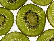 plant, kiwi, fruit, plants, slice