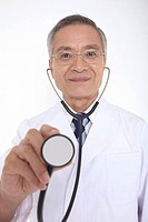 Doctor having a stethoscope (thumbnail)