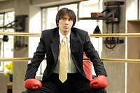 Office worker on the ring