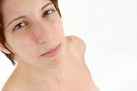 Naked Pensive Woman