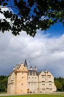 Brodie Castle. Moray, Grampian region, Scotland, UK