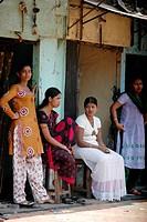 Mumbai India, prostitutes at Falkland road
