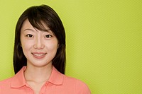 Portrait of a female office worker smiling