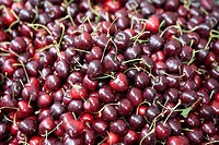 Cherries, full frame