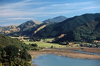 New Zealand _ South Island _ Marlborough Sounds _ Havelock neighbourhood