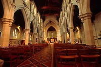 New Zealand _ South Island _ Canterbury _ Christchurch Cathedral
