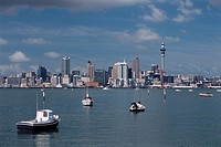 New Zealand _ North Island _ Auckland _ Waitemata Harbor