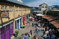 England _ London _ Camden Town district and Camden Lock Market