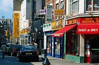 England _ London _ Whitechapel District _ Brick Lane Street