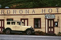 New Zealand _ South Island _ Central Otago _ Cardrona _ Hotel built in 1863