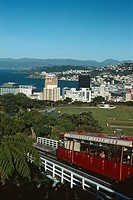 New Zealand _ North Island _ Wellington _ Cable Car