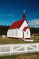 New Zealand _ North Island _ Tongariro _ Te Rangiita neighbourhood _ Anglican chapel