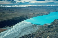 New Zealand _ South Island _ Aorangi _ Lake Pukaki _ Tasman river