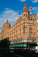 England _ London _ Brompton district _ Brompton Road _ Harrods