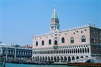 Italy _ Venice _ St Mark's square _ The Doge's Palace _ The Campanile