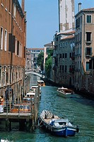 Italy _ Venice _ Channels _ urban activity _ lacustrian _ waterways