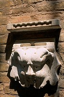 Italy _ Venice _ sculpture of a lion's head _ letter box