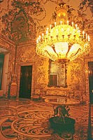 Spain _ Madrid _ Palacio Real _ The Charles III sumptuous apartments