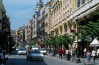 Spain - Madrid - Puerta del Sol - Calle Mayor - main - street (thumbnail)
