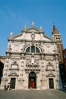 Italy _ Venice _ Church San Moise _ facade