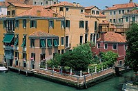 Italy _ Venice _ The Grand Canal _ private residence and garden