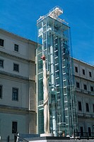 Spain _ Madrid _ Queen Sofia Art Center _ Museum of Modern Art _ Centro de Arte Reina Sofia